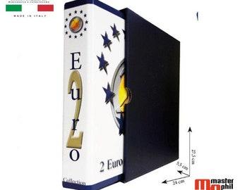 Album 2 euro commemorative coin collector