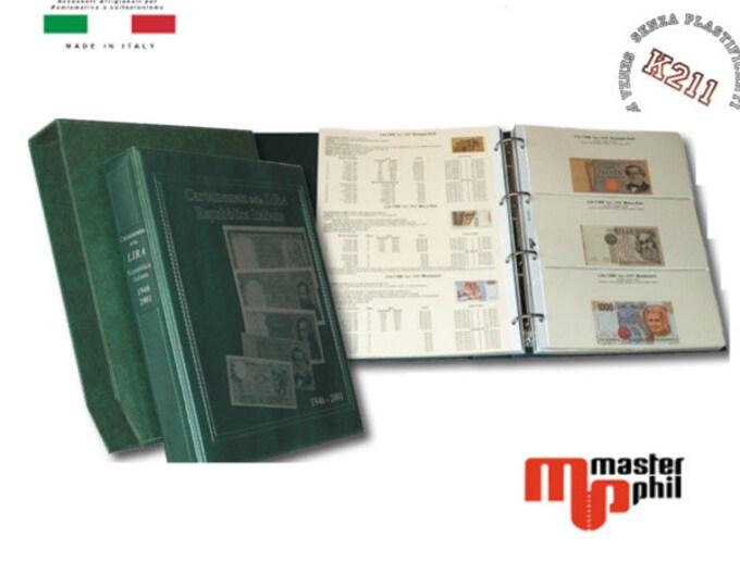 Album Banconote della Lira Repubblica Italiana completo