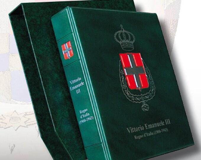 Album raccoglitore con custodia per monte del Regno d'Italia diverse tipologie