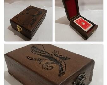 Customizable Neapolitan card container box