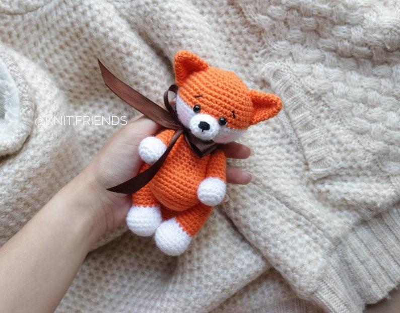 Crochet pattern fox  crochet pattern amigurumi fox crochet image 0
