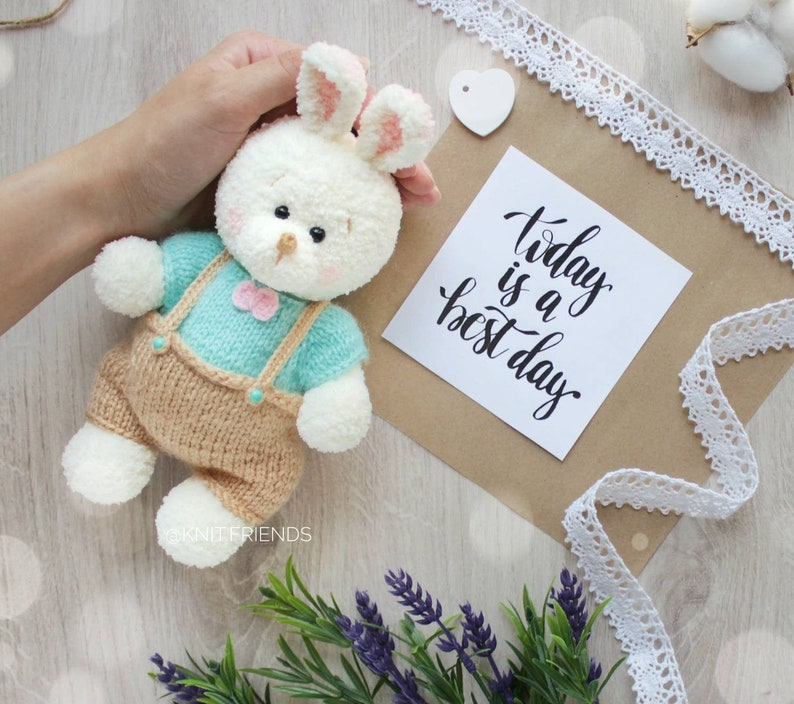 Crochet Cute Bunny Rabbit Amigurumi - YouTube | 704x794
