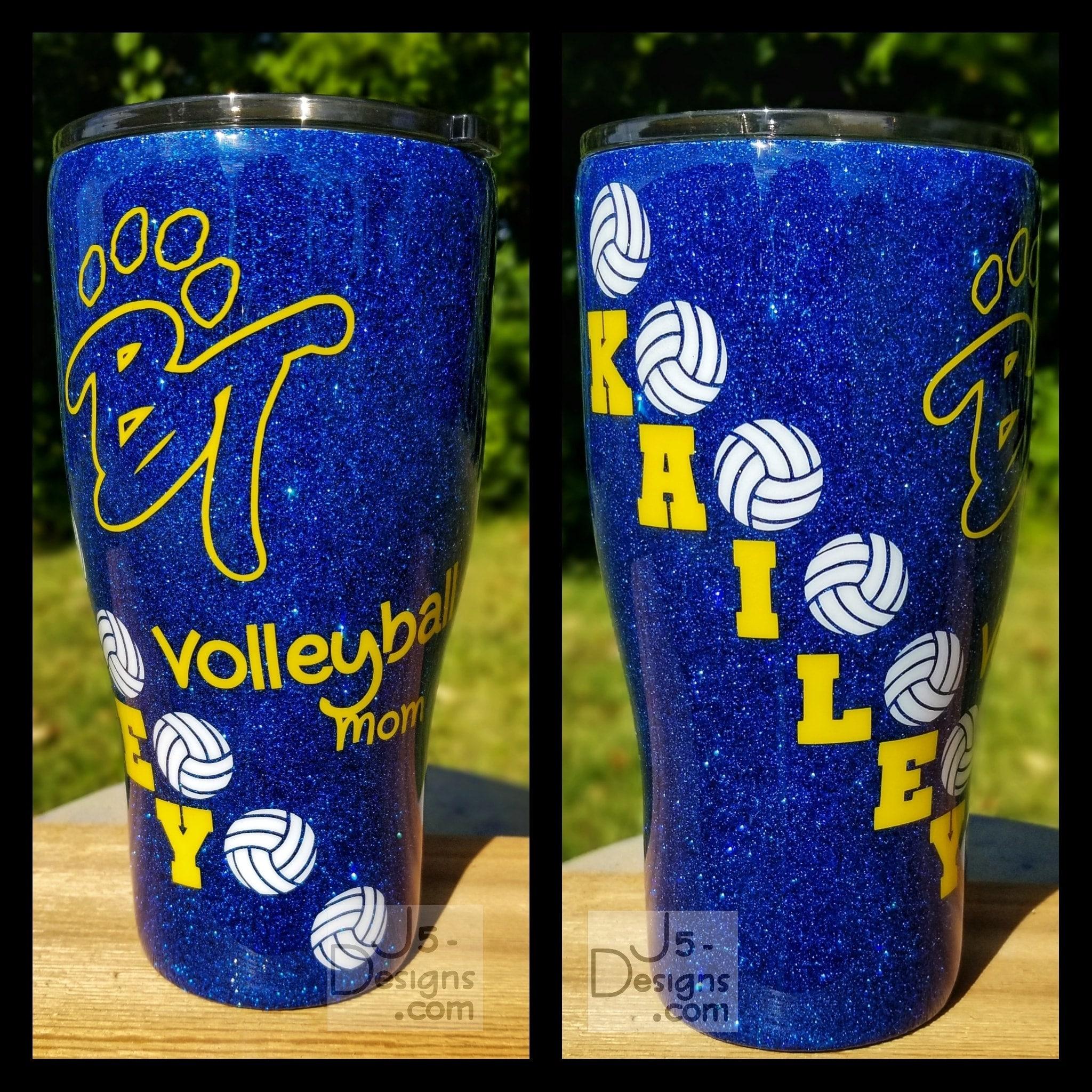add name Baseball Tumbler with logo /& NameBaseball Swirl Glittery YetiCustom Glitter Sports MugAny Team Colors and Logo can be used