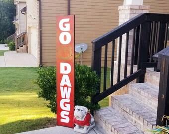 Georgia Bulldog Sign Etsy