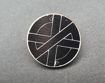 CRASS Punk, Wooden Pin.