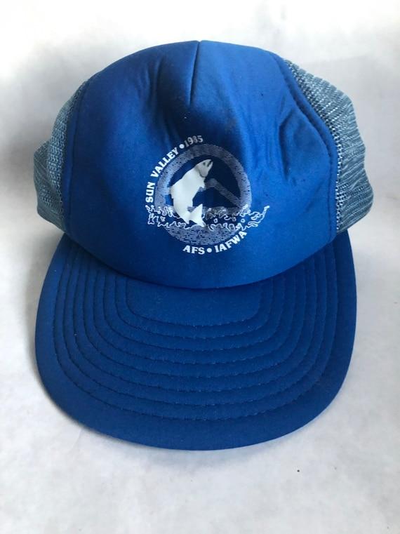 True vintage blue Sun Valley, Idaho   (1980's-1990