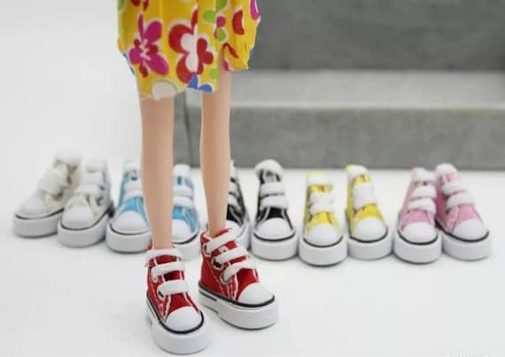 4Pairs Fashion Sneackers For Doll Mini Toy for  Doll Shoes HK