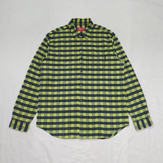 Supreme plaid flannel SS 2017