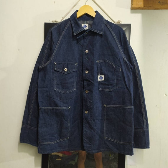Post Overalls coverall chore jacket