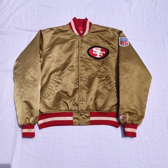 Vintage 90s Starter 49ers Nfl Varsity satin jacket