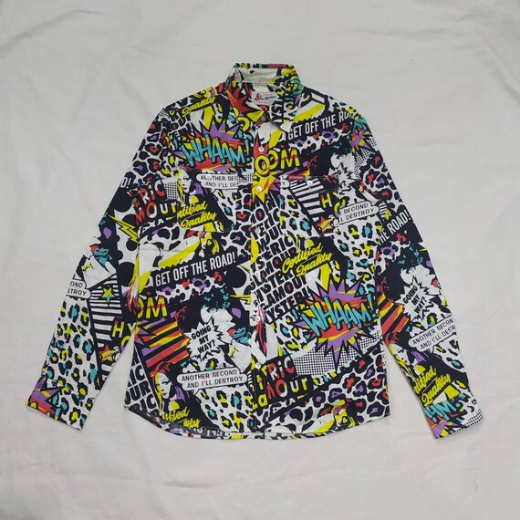 Hysteric Glamour All over print button shirt