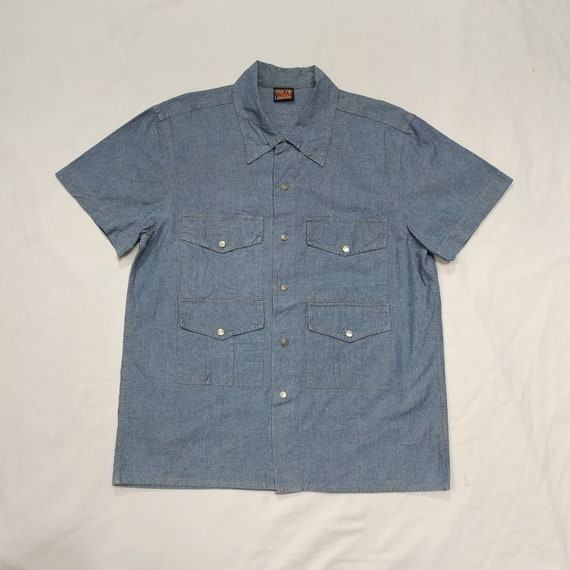 W.&L.T. by Walter Van Beirendonck 4 pocket shirt