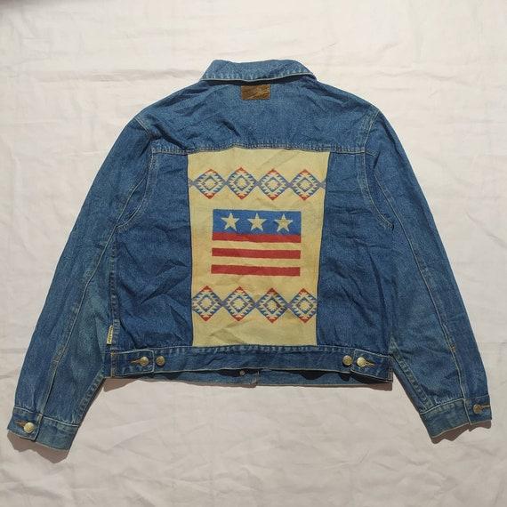 Pendleton Denim JacketMen/'s XXL Pendleton Jacket Native Style Jacket Stylish Jacket Southwest Jacket Denim Jacket Jean Jacket