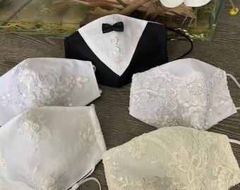Wedding Mask Etsy