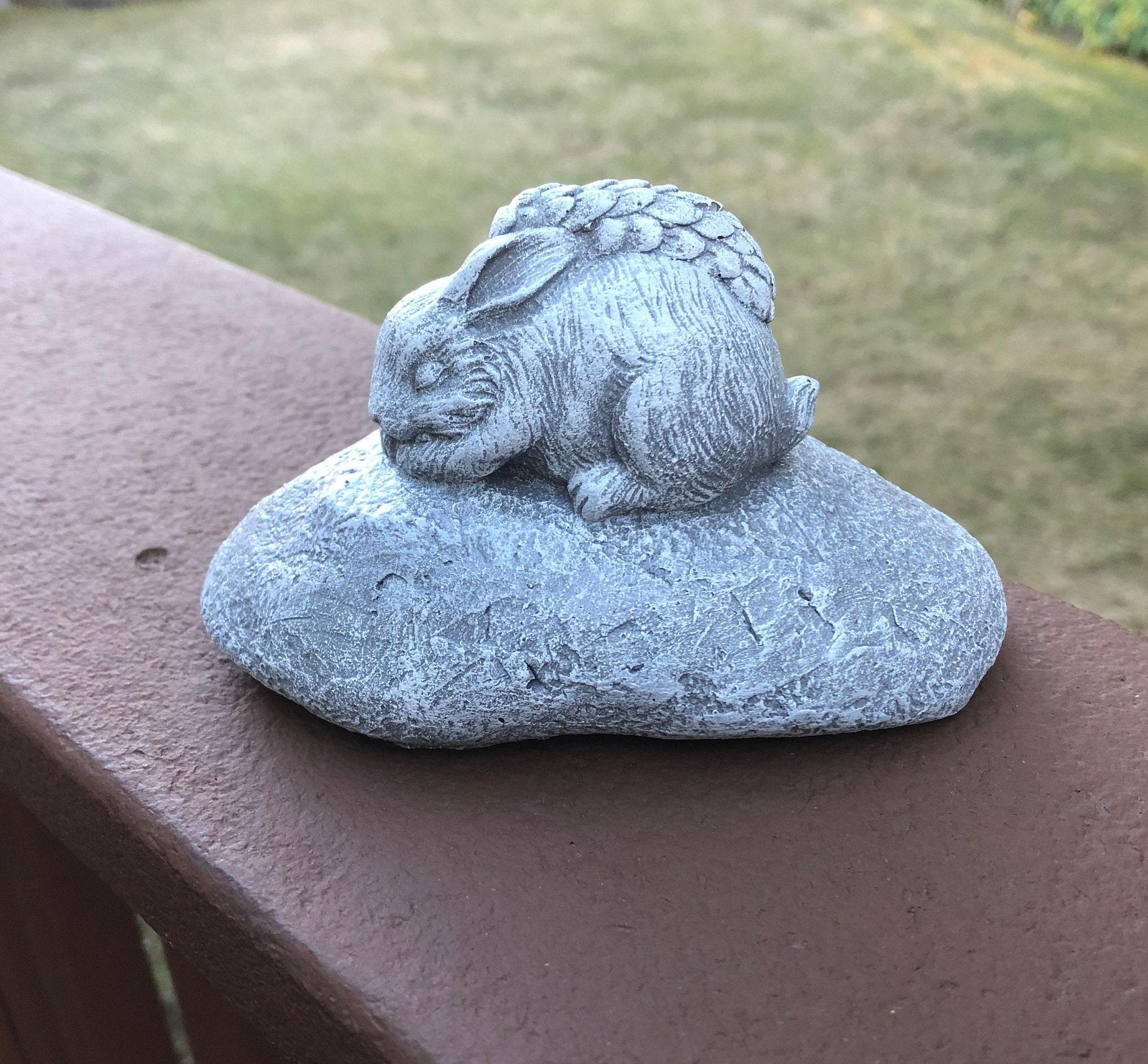 Concrete Garden Ornament Rabbit Small