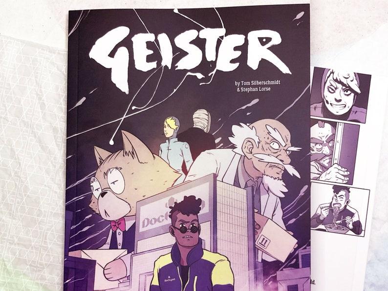 Comic-Book: Geister English Version image 0