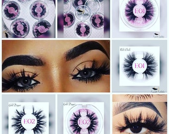 4927eac7616 Royal Exquisite Dramatic 25mm 3D Mink lashes