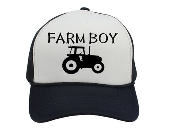 1c06a7d4312 Toddler tractor hat