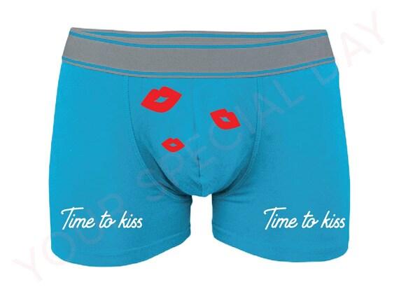 Anniversary Gift for Him Funny Boxer Briefs Gift for Boyfriend Men/'s Underwear Valentine/'s Day Gift
