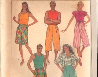 Simplicity 7959 African Fashion Doll Clothes Pattern 11 12 Barbi Evening Caftan Hat Peplum Top Skirt Designer Shanti Sewing Pattern UNCUT