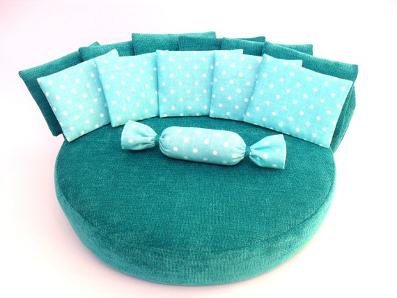 Pleasant Round Sofa Sofa Sofa For Doll Sofa For Barbie Barbie Clothes Bed For Barbie Handmade Barbie Furniture Doll House Bralicious Painted Fabric Chair Ideas Braliciousco