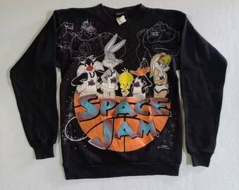 d946d622071d5b Rare Vintage 90s Space jam sweatshirts   kids unisex size ( 14-16 )