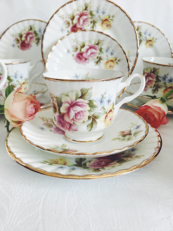 Stafford bone royal china vintage CATALOGUE DATE