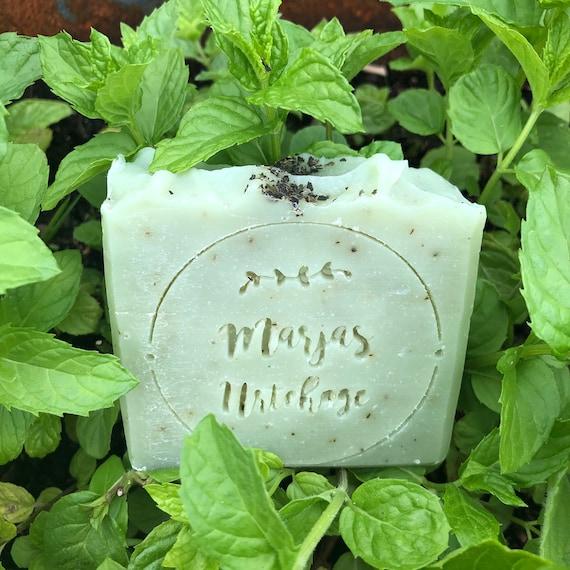 MYNTE - såpe med mynte og sitrongress