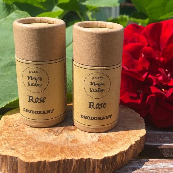 ROSE- natural deodorant