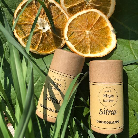SITRUS - natural deodorant
