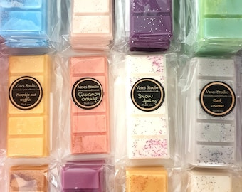 Wax melt snap bars, highly fragranced, long lasting melts, unstoppable melts, autumn fragrances, winter scents