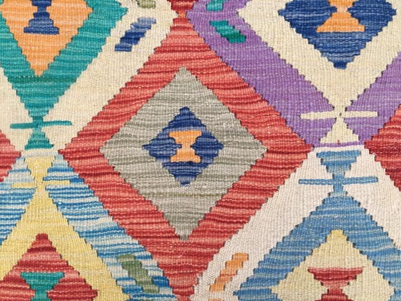 Afghan Chobi Kilim Runner Hand Woven New Kilim Flat Weave Kilim 199 x 75 cm Afghan Kilim 2x7 Cheap Price Long Runner Rug FREE SHIP