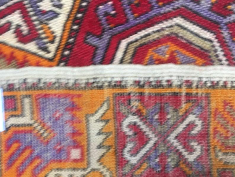 Turkish Rug Hand Knotted Medallion Rug Sheraz Design Rug 90 cm x 56 cm FREE SHIP Tribal Rug Home Decor Rug 2x3 Vintage Afghan Rug