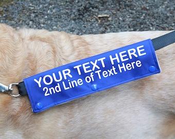 Custom Dog Leash Personalized Dog Leash New Dog Owner Personalized Pet Leash Custom Dog Leash Gift for Pet Owner Dog Gift Dog Mom