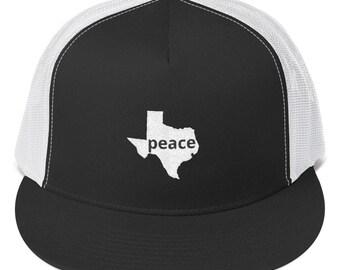5d4dc352199 Peace trucker hat