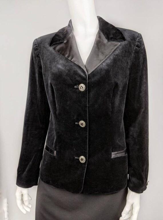 Blazer Big Man Big Style VERSACE VERSACE Burn-out Velvet Jacket
