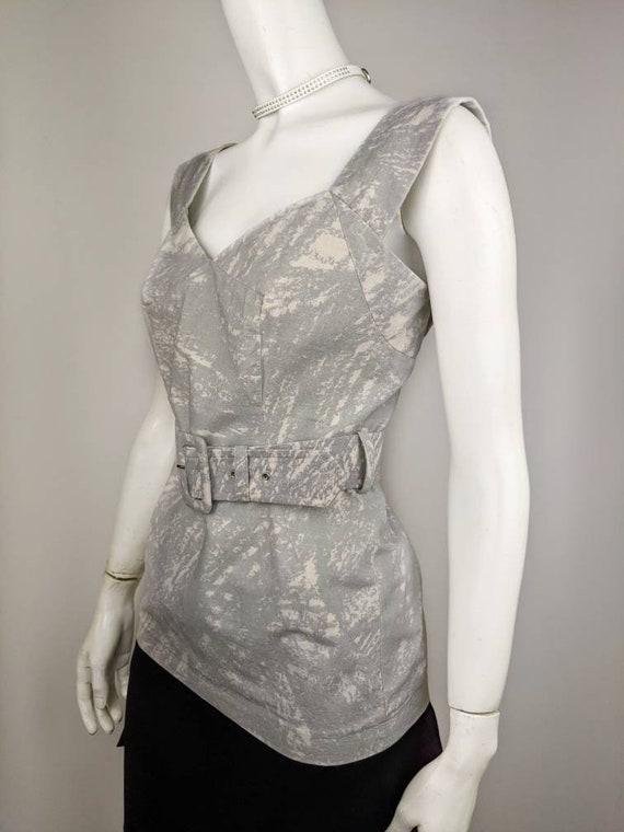 Vtg 90s VIVIENNE WESTWOOD top blouse | Red Label … - image 3