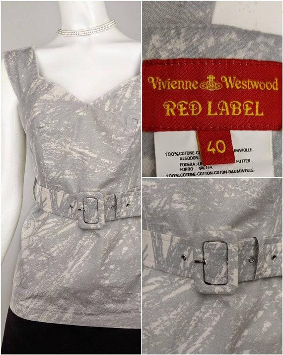 Vtg 90s VIVIENNE WESTWOOD top blouse | Red Label … - image 2