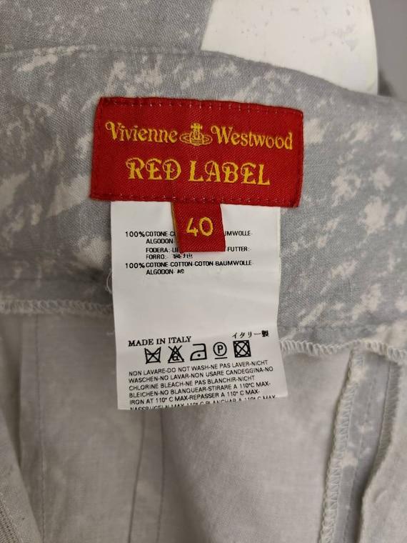 Vtg 90s VIVIENNE WESTWOOD top blouse | Red Label … - image 9