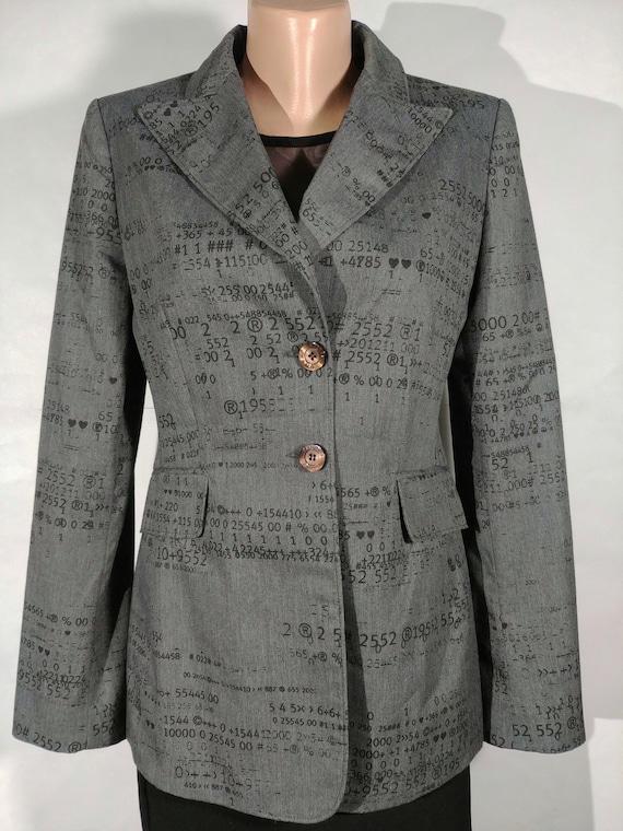 MOSCHINO women's jacket | Size 42/8 | Designer Jac