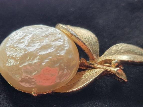 Vintage Pearl Bloom Brooch Sarah Coventry/Vintage… - image 4