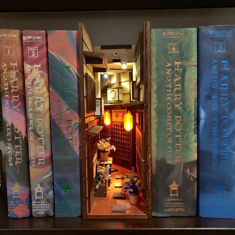 Japan Old Town miniAlley ™ Booknook Bookshelf Insert ™ image 0