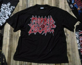 949eaf802 MORBID ANGEL 2001 Vintage Original Death Metal T-shirt