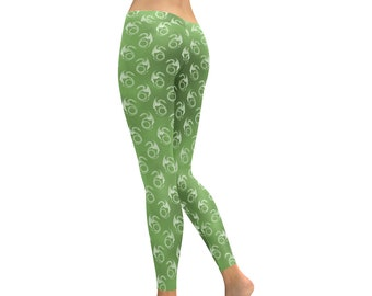 b7701263c547f2 Dragon Leggings, Fantasy Creature Yoga Pants, Fitness Wear, Athletic Wear,  Gym Wear, Exercise Pants, Various Colors, Sizes 2XS-5XL