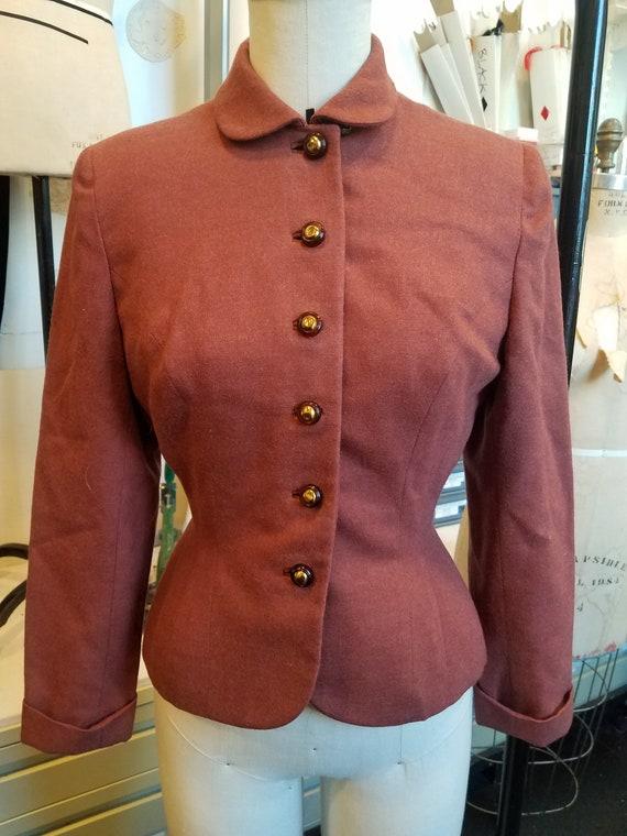 Arlene Norman Junior Original Wool Jacket - 1940's