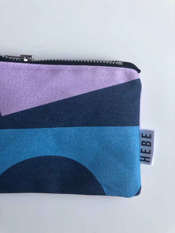 Navy Shapes Make Up Bag