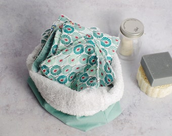 Washable make-up removers and storage basket