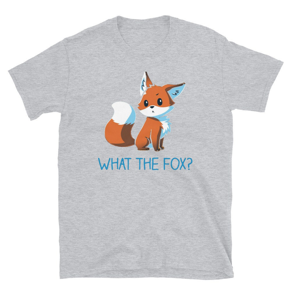What The Fox Unisex T-shirt LongSleeve Tee