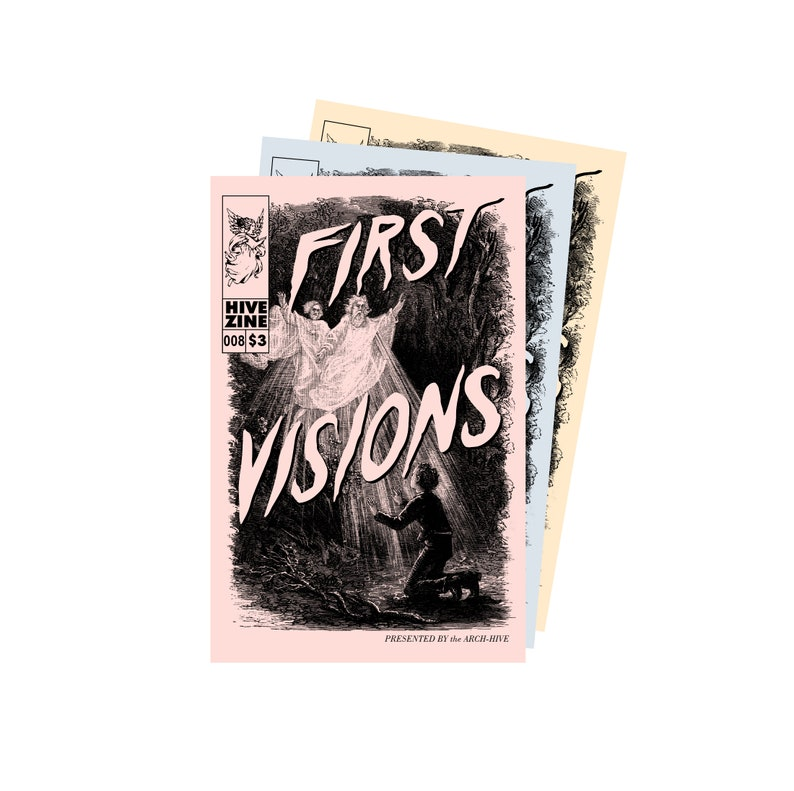 HIVE ZINE  008: First Visions image 0