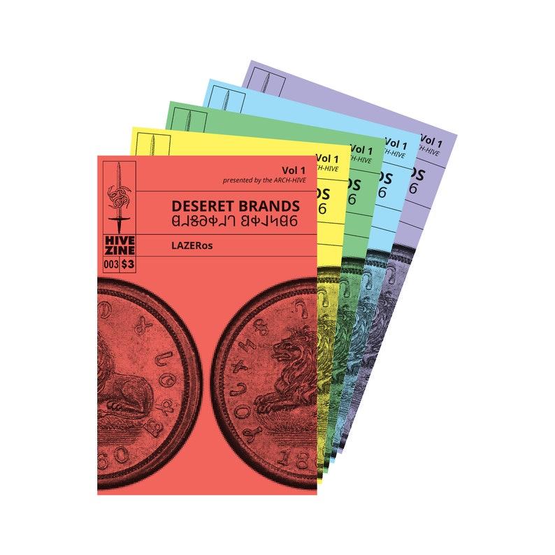 HIVE ZINE  003: Deseret Brands Vol 1 image 0